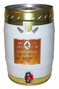Hopfenhexe Fest Bier 5 l Fass