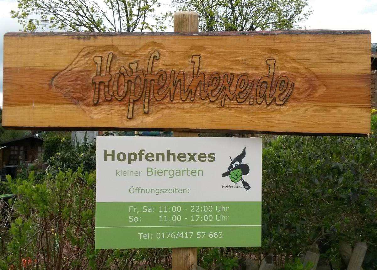 Hopfenhexes kleiner Biergarten